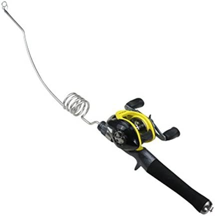 Emmrod Pocket Rod Ice Fishing Combo Stainless Steel Kayak Casting Combo Coiled New Concept Casting Rod Combo with Case