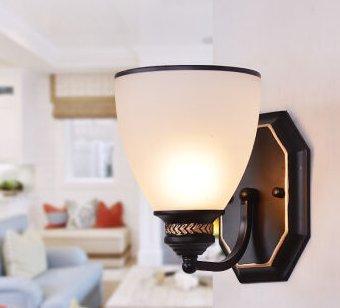GS~LY Gang Wandleuchten antike Schlafzimmer Bett Lampen modernen ...