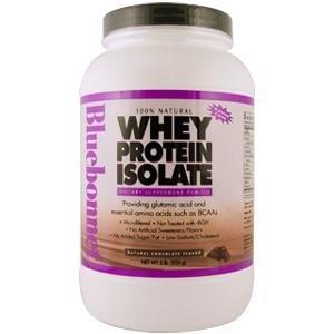 Bluebonnet Nutrition 100% naturel isolat protéique de lactosérum en poudre chocolat saveur - £ 2