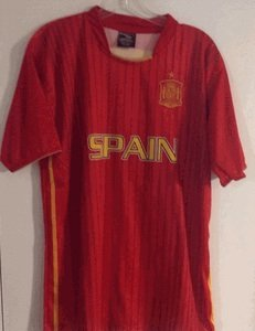 Drako Spain Country Jersey ''One Size'' =Athletic Men's Large