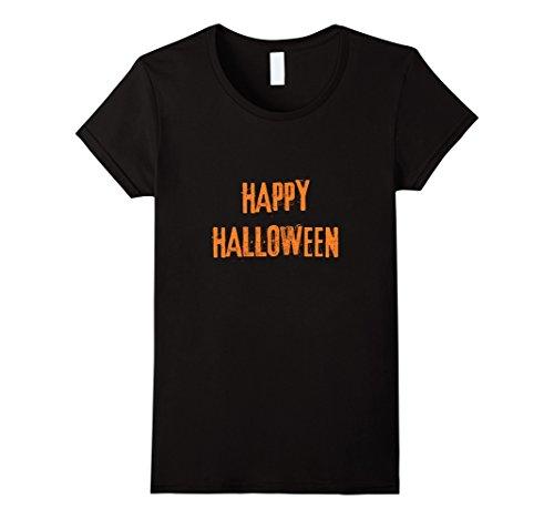 Female Punk Rock Costume Ideas (Womens Halloween T-shirt Small Black)