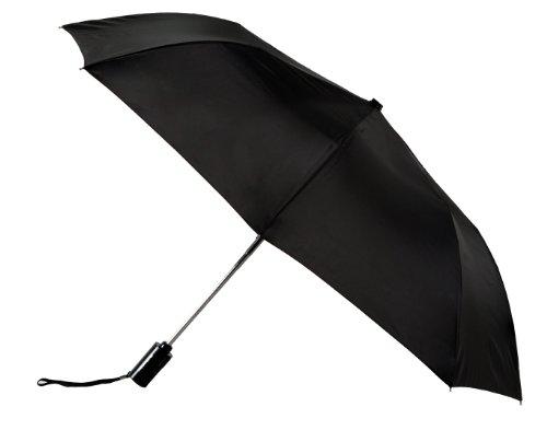 black-automatic-open-close-windproof-compact-folding-umbrella
