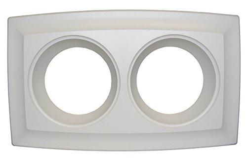 NuTone S89260000 Bathroom Fan Cover, White