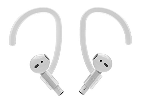AirRings for Apple Airpods - Silicone Ear Hook Holders Around-Ear Cover Skin Case Acccessories - Holds AirPods Securely In-Ear!