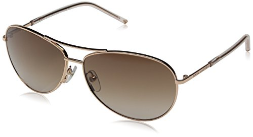 Marc Jacobs Marc59s Aviator Sunglasses, Gold Copper/Brown Gradient, 59 - Marc Sunglasses By Jacobs