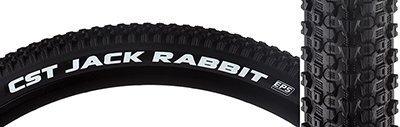 Tires Cstp Jackrabbit 27.5X2.1 Bk/Bk Fold Dc/Eps by Cst Premium