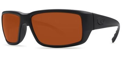 Costa Del Mar Fantail 580G Fantail, Blackout Copper, - Costa Fantail Del Mar