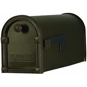 SOLAR GROUP TM11BZ01 Trenton Mailbox, Bronze