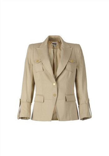 Taille Fashion Blazer Beige Neuf 40 Apart I6xT8