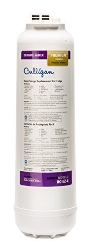 Culligan RC 4 EZ-Change Premium Water Filtration Replacement Cartridge, 500 Gallons, White ()