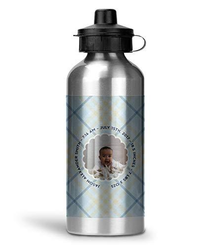 Baby Boy Photo Water Bottle - Aluminum - 20 oz