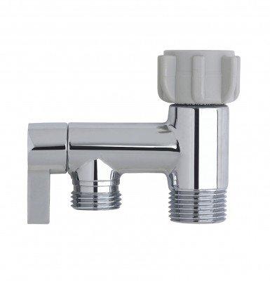 Rinseworks Aquaus Bidet Sprayer Metal Brass T Adapter Connector