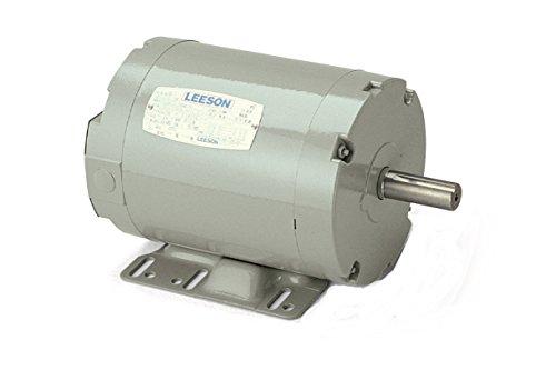 (Leeson 120379.00 Agricultural Aeration Fan Motor, 3 Phase, 145T Frame, Rigid Mounting, 3HP, 3600 RPM, 230/460V Voltage, 60Hz)