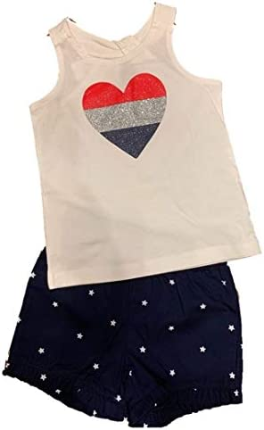 Carter's Baby 2 Piece 4th of July Tank & Short Set