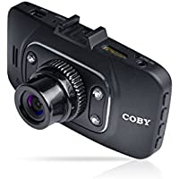 Coby DCHD-102 GPS Logger 1080p Car Dash Cam and DVR Box (Black)