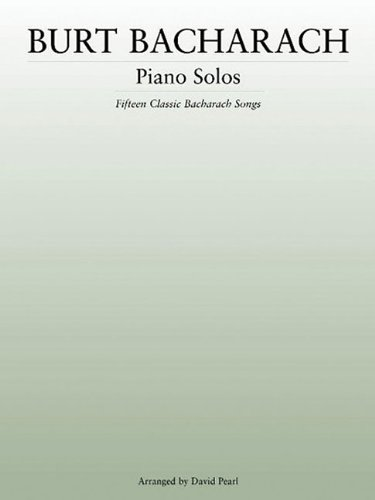 Burt Bacharach: Piano Solos (Music Sales America)