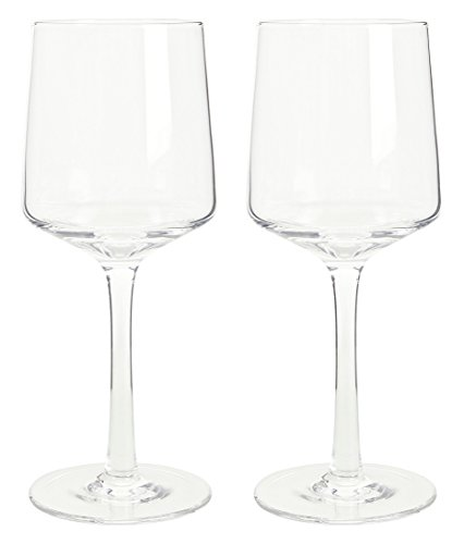 (Denby Natural Canvas White Wine Glasses, Clear, Pack of)