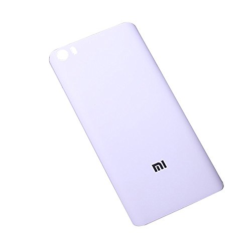 Price comparison product image Flos Xiaomi Mi5 Plastic Back Cover, Back Cover for Xiaomi Mi5 (White)