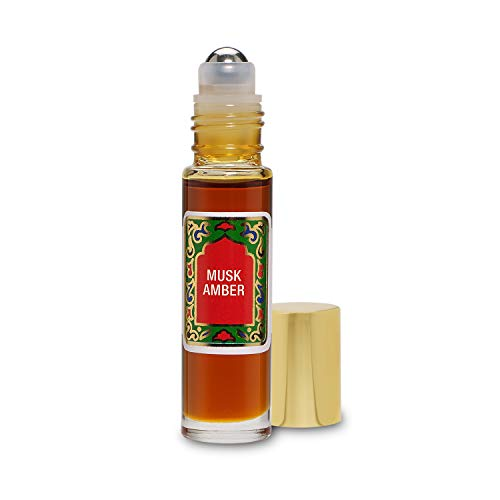 - Nemat Fragrances - Musk Amber Roll-on Perfume (10ml / .34fl Oz)