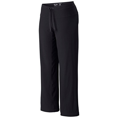 Mountain Hardwear Yumalina Fleece-Lined Pant for Cold Weather Outdoor Activities - Black/Graphite - 8 x 34L