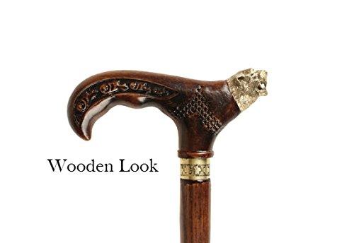 Panther Wooden Walking stick, Walking cane , Cane , Hikin...