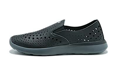Ccilu Women's Shoes, Kaza Katia Faux Leather Sneakers; Casual Slip-On Trainers Black Size: 5