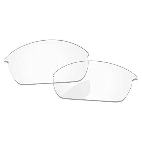 PapaViva Lenses Replacement for Oakley Flak Jacket Crystal ()