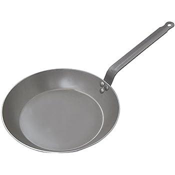Amazon Com De Buyer Carbon Steel Frying Pan Dia 9 1 2