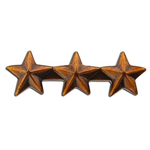 Triple Bronze Star - 3/16