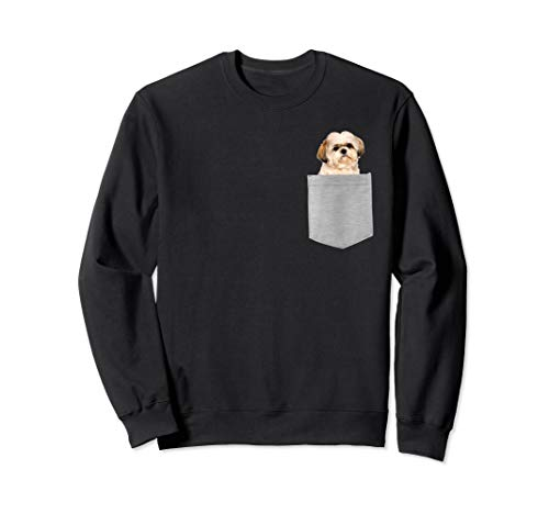 Dog in Your Pocket Shih Tzu Sweatshirt