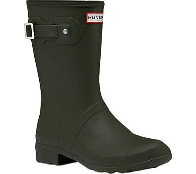 Amazoncom  Hunters Hunter Boots Womens Original Tour Short Boots   MidCalf