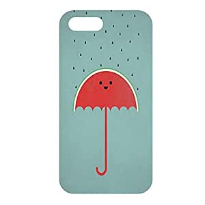 Babe Supply Cartoon UmbrellaPattern Hard Case for iPhone 5C