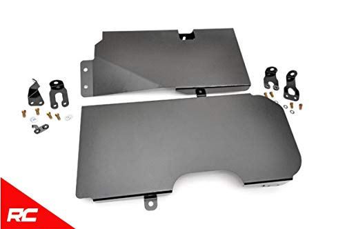 Rough Country Gas Tank Skid Plate Compatible w/ 2007-2018 Jeep Wrangler JK 4DR Armor 795 (Tank Fuel Country)