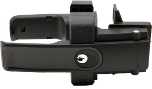 D&D LokkLatch Magnetic Latch, Keyed Alike w/ Black Trim Finish-LLMKABT