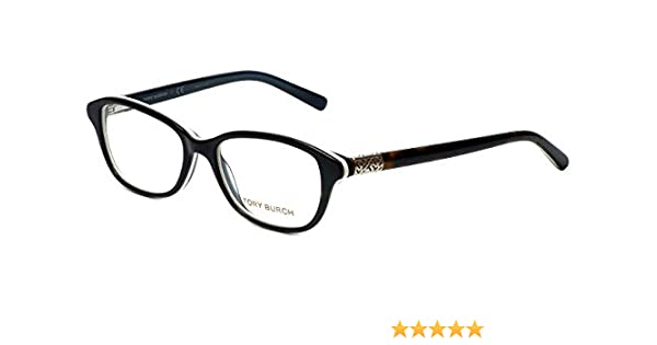 48dda168e1e95 TORY BURCH Eyeglasses TY 2042 1276 Tortoise White 53MM at Amazon Men s  Clothing store