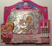 Disney Princess Palace Pets Color N' Style Fashion Purse (Color Castle)
