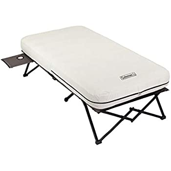 Amazon Com Coleman Twin Airbed Folding Cot With Side