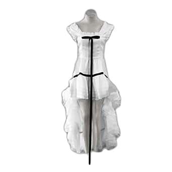 Chobits Cosplay Costume - Chii White Dress 2nd XXX-Large