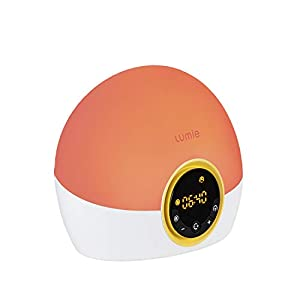 Lumie Bodyclock Rise 100 – Wake-Up Light Alarm Clock with Sunrise and Sunset