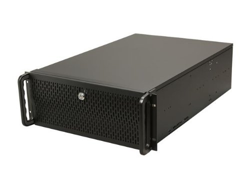 Rosewill 4U Server Chassis / Server Case / Rackmount Case, Metal Rack Mount Computer Case support with 15 bays & 7 Fans Pre-Installed (RSV-L4500) (Rackmount Hardware)