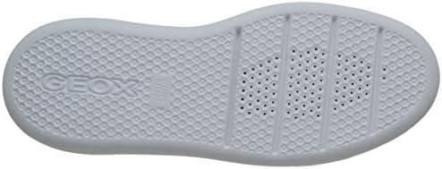 Geox Women's D Ottaya A Low-Top Sneakers, White (White C1000), 8 UK