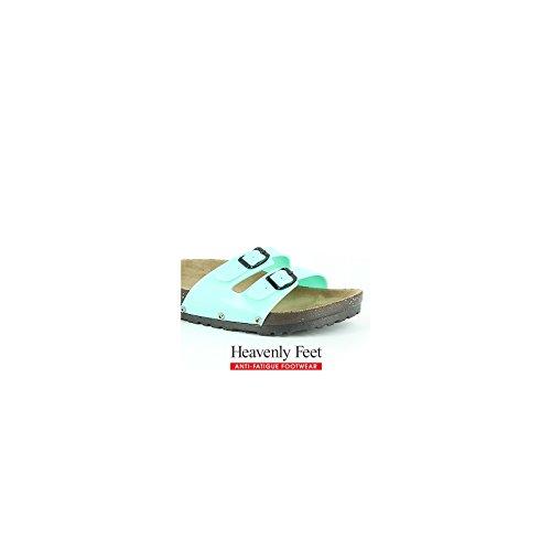 Heavenly Feet , Damen Sandalen Aqua