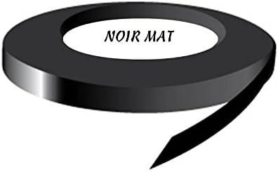 LAV RENOVAUTO Filet Deco Noir Mat 9 mm