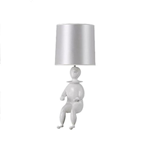 Doll Bedside lamp Creative Fashion Bedroom Living Room European Simple Personality Lovely Clown lamp