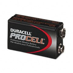 (:  Duracell PC1604BKD Procell Alkaline Batteries, 9V (Pack of 12) – style and color may vary)