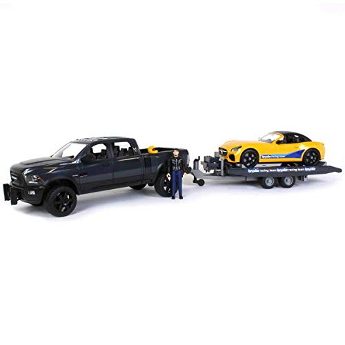 Ram 2500 Power Wagon and Bruder Roadster Racing Team