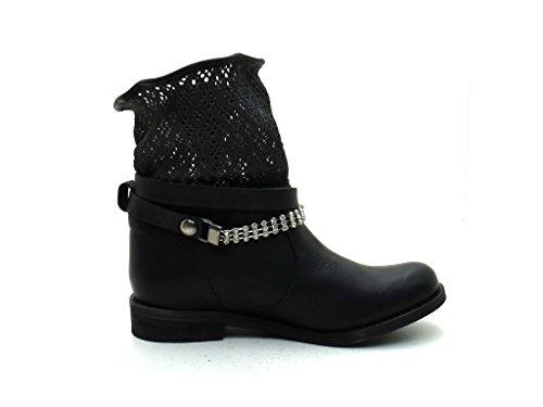 franklin Biker Femme Boots P Black 428 gx8fqTgn4