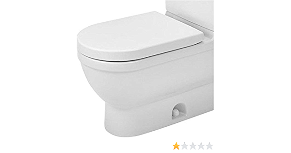 Duravit 2125010000 Elongated Starck 3 Toilet Bowl White Two Piece Toilets