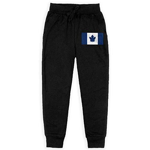 Dxqfb Toronto Maple Leaf Flag Boys Sweatpants for Boys