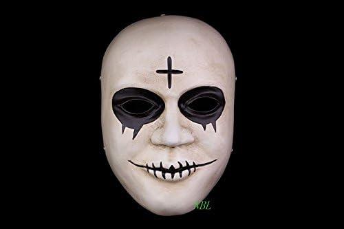 2016 * Nuevo * película la purga máscaras Cruz resina Smile blanco ...